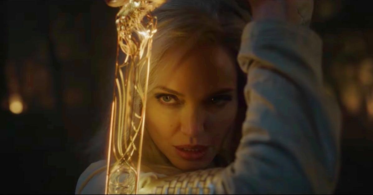 Marvel's Eternals Angelina Jolie