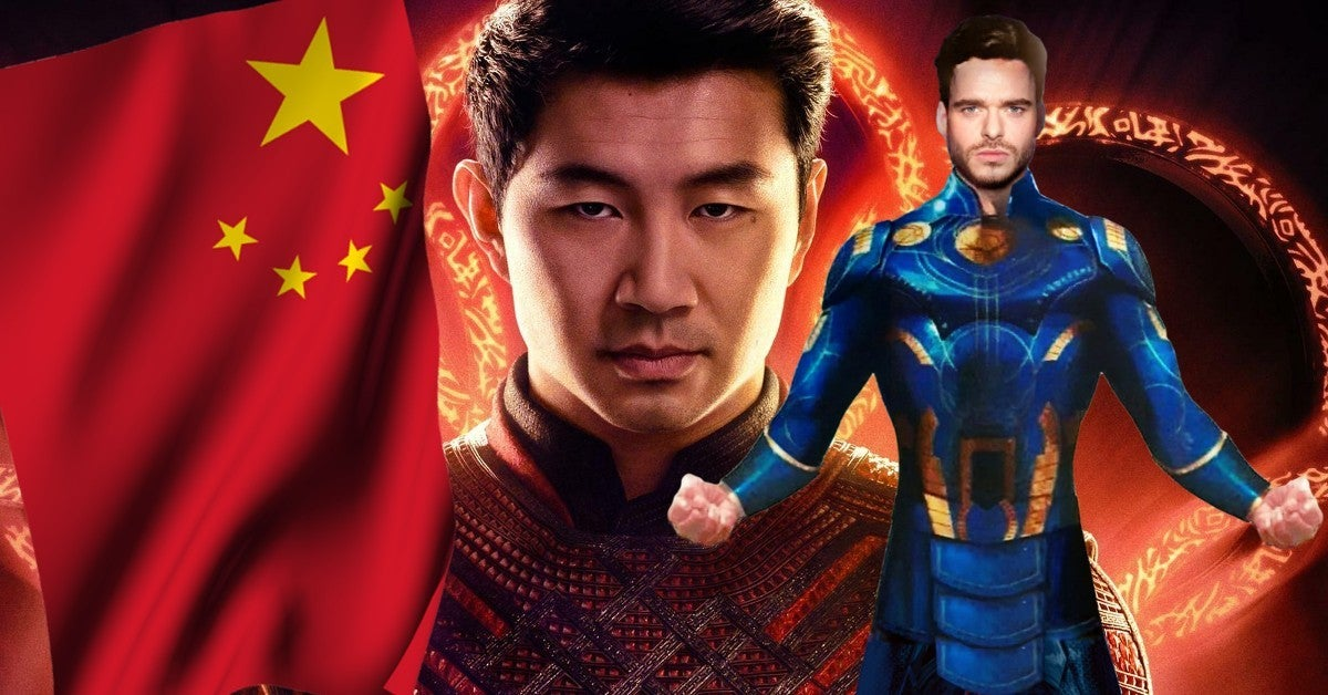 Marvel Shang Chi Eternals Banned in China
