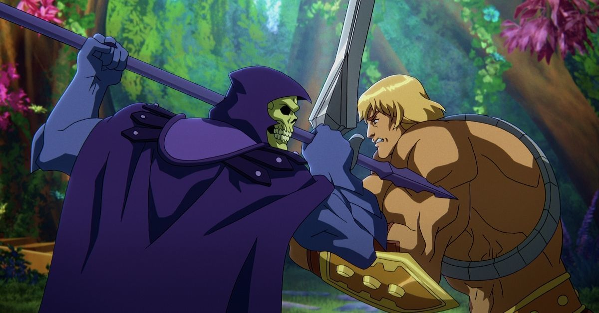 Masters of the Universe Revelation He-Man Skeletor Netflix Series Kevin Smith