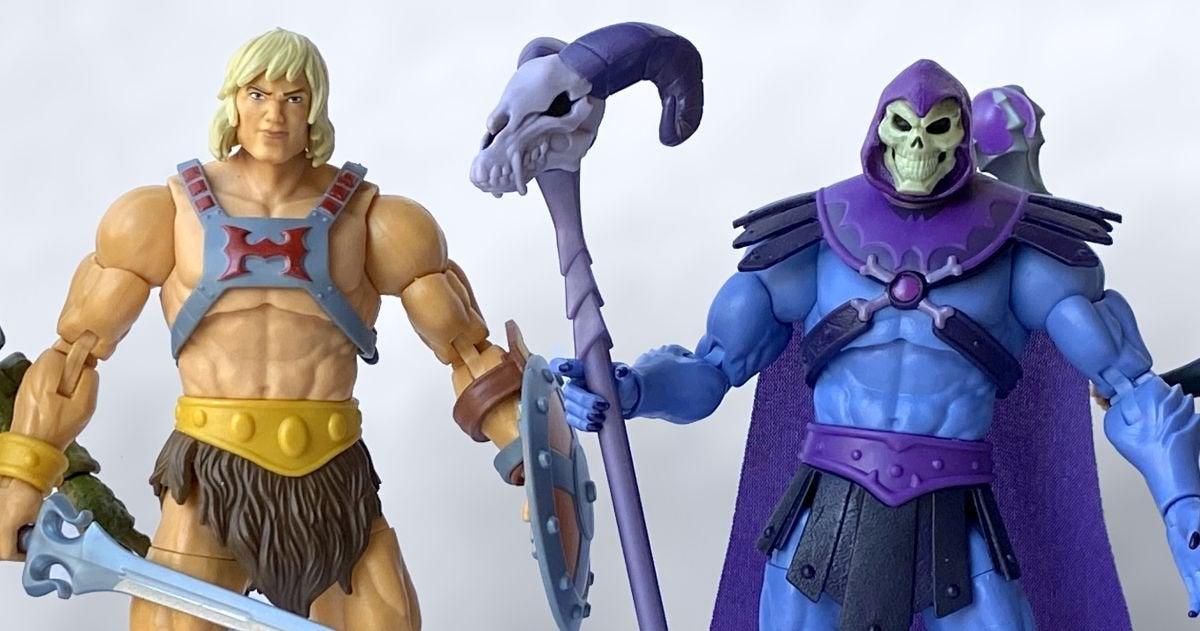 masters of the universe revelation toys