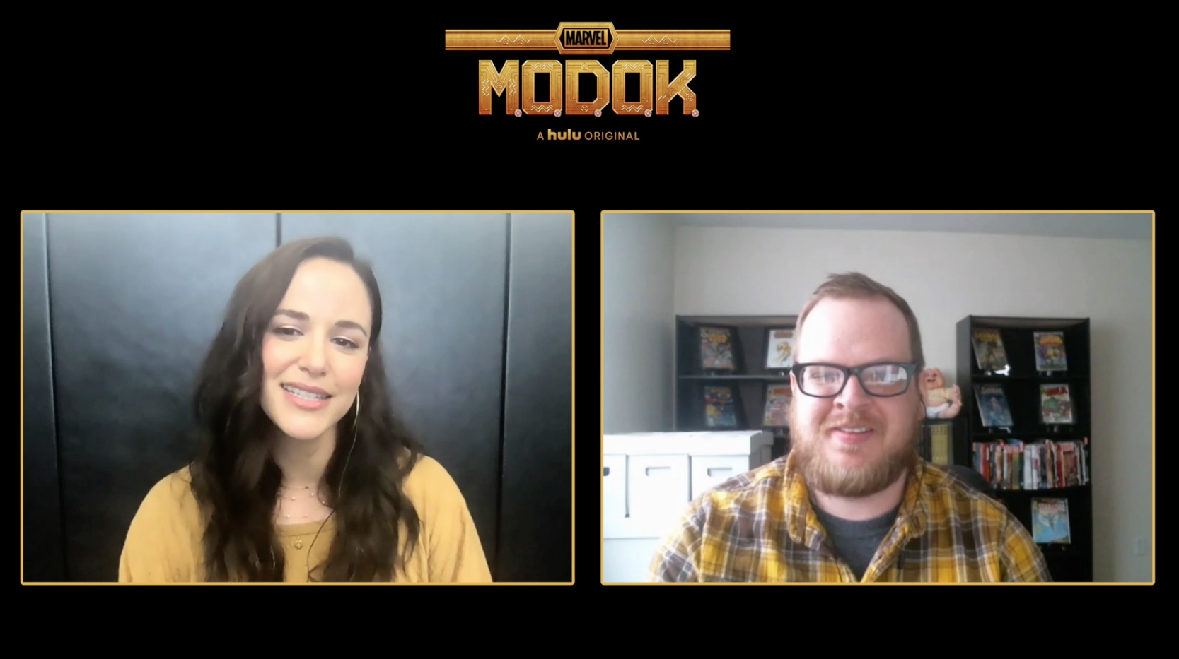 Melissa Fumero Talks MODOK - ComicBook.com Exclusive Interview
