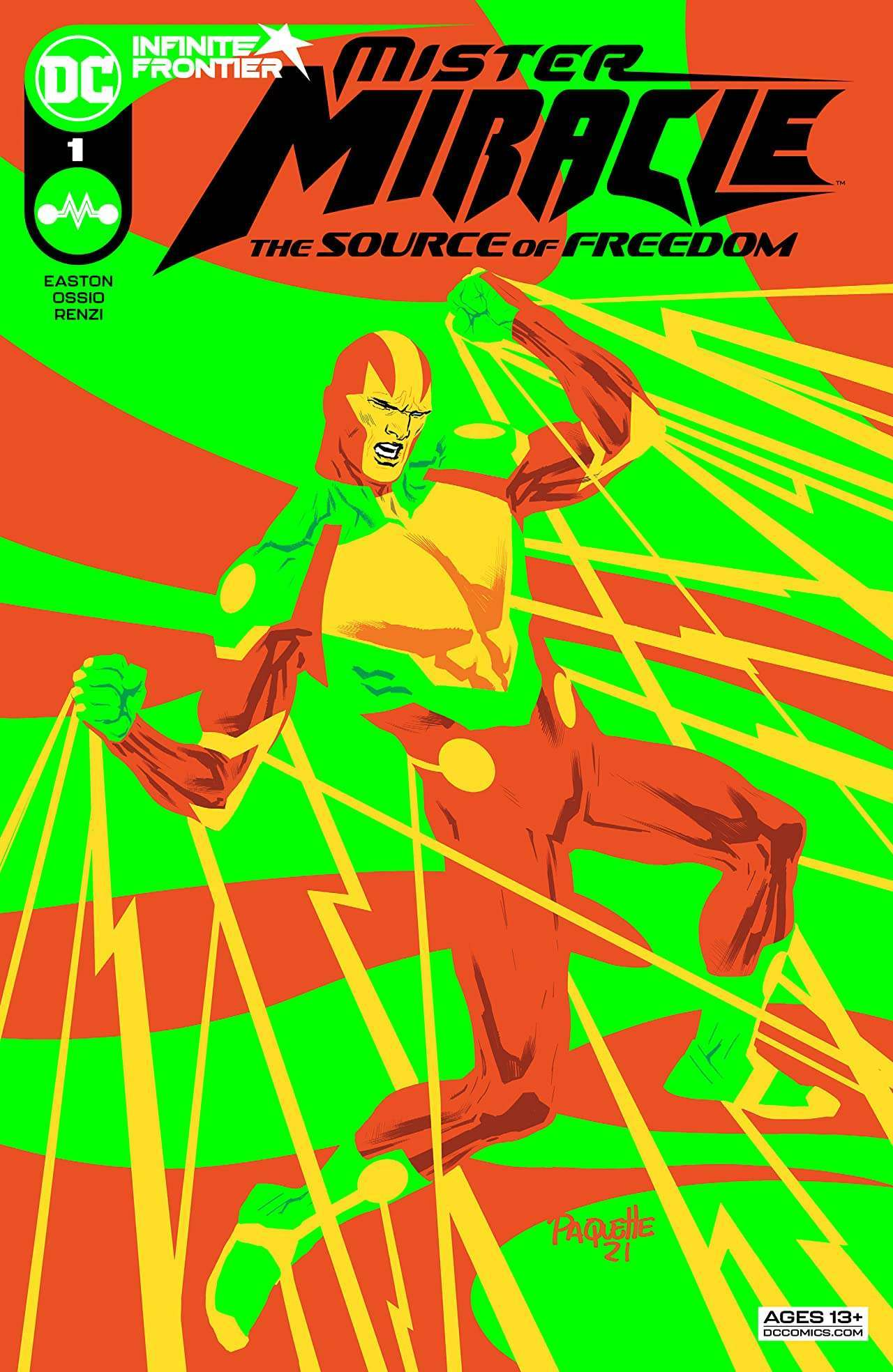 Mister Miracle The Source of Freedom #1