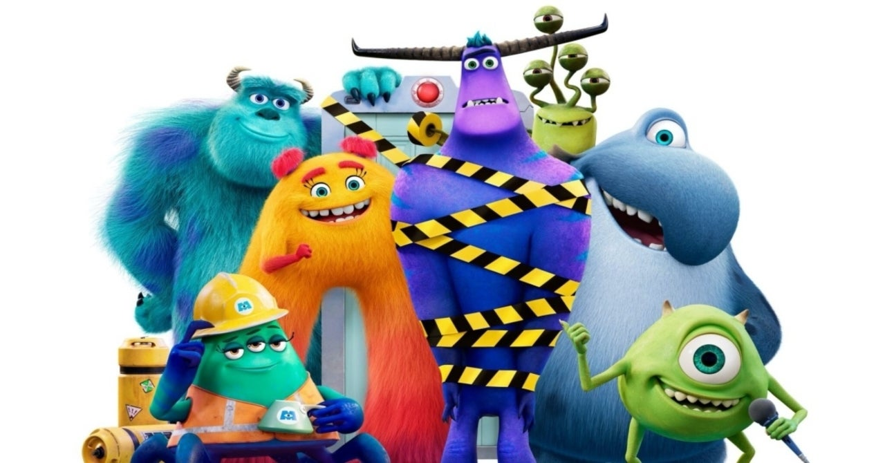 Monsters At Work: It'S Laughter They'Re After In New Poster For The Disney+  Series