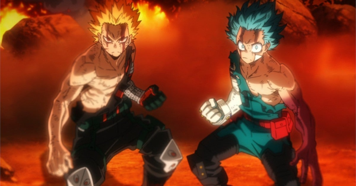 My Hero Academia Why Bakugo Fight All For One