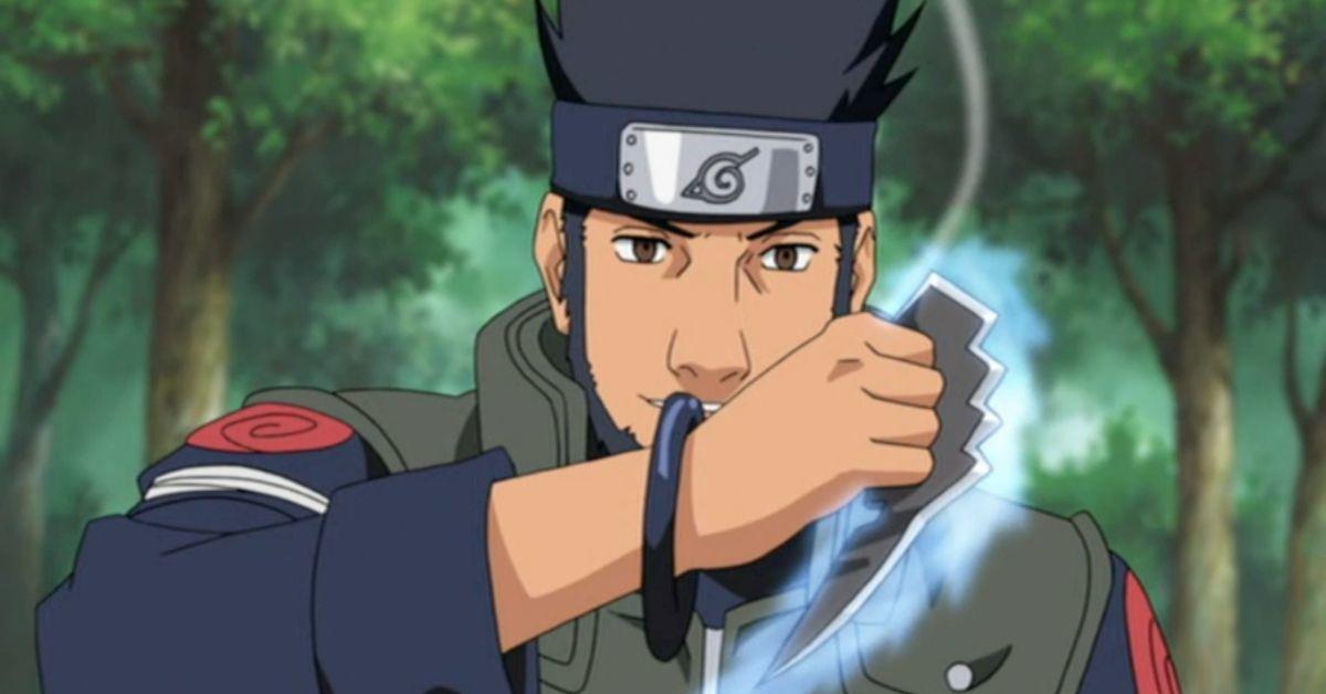Naruto Asuma Chakra Blades