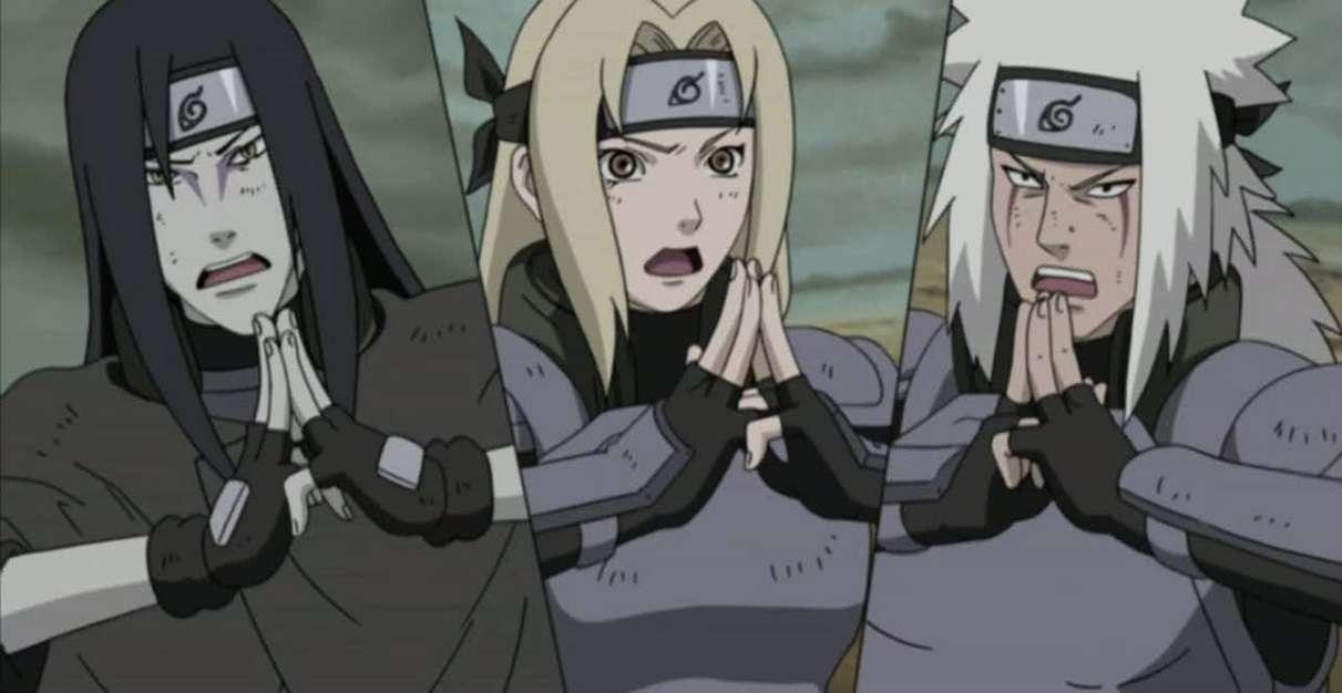 Naruto Sanin