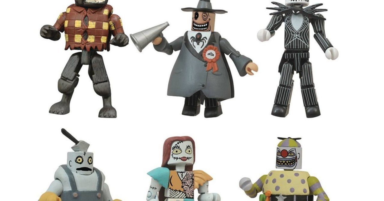 The Nightmare Before Christmas Comic Con 2021 Offsite Event Sdcc 2021 Exclusive The Nightmare Before Christmas Minimates Lotr Figures Are Up For Pre Order