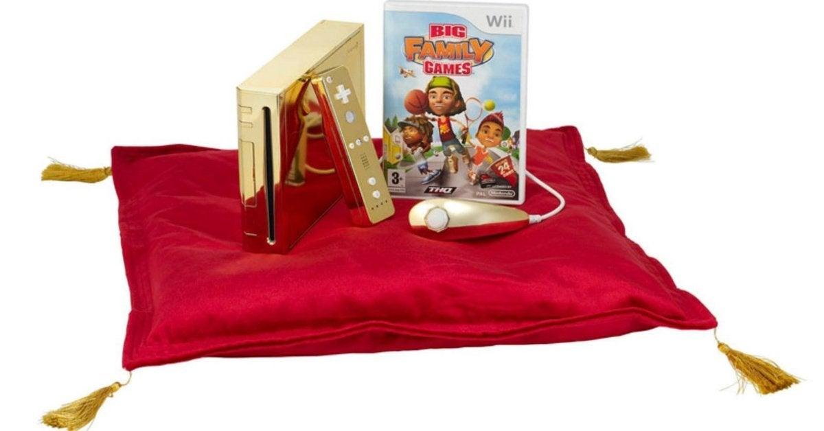 Nintendo Wii Gold
