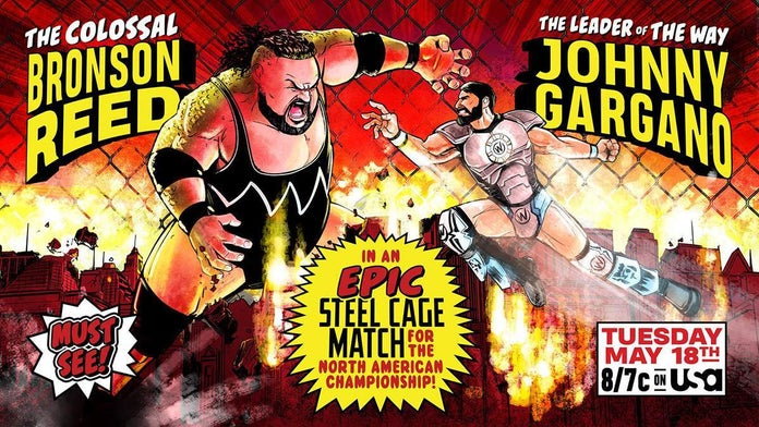 NXT-Johnny-Gargano-Bronson-Reed-Cage-Match-Art