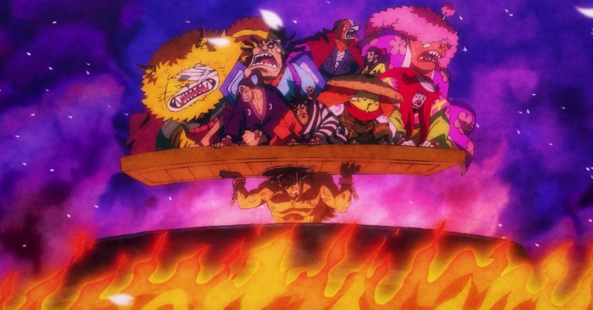 One Piece Oden Legendary Hour Wano Anime