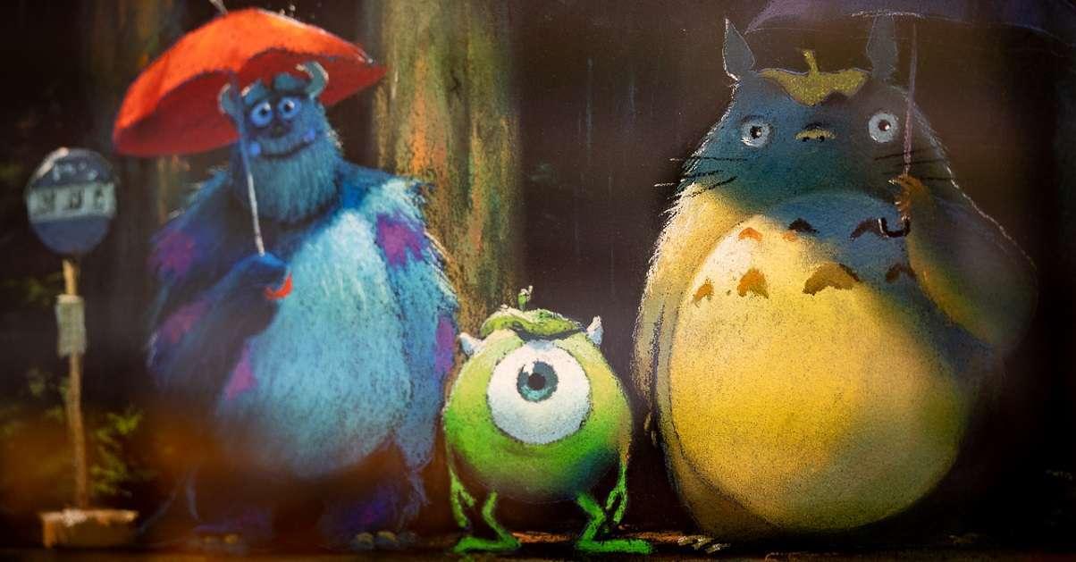 Pixar Studio Ghibli
