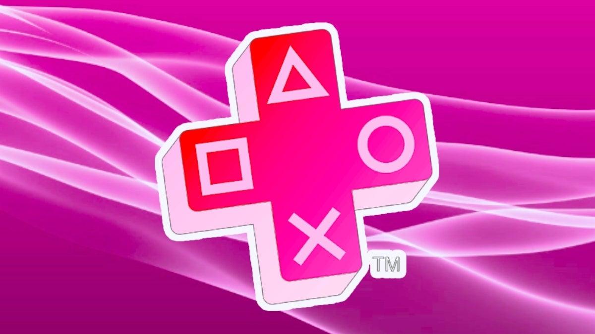 playstation plus pink