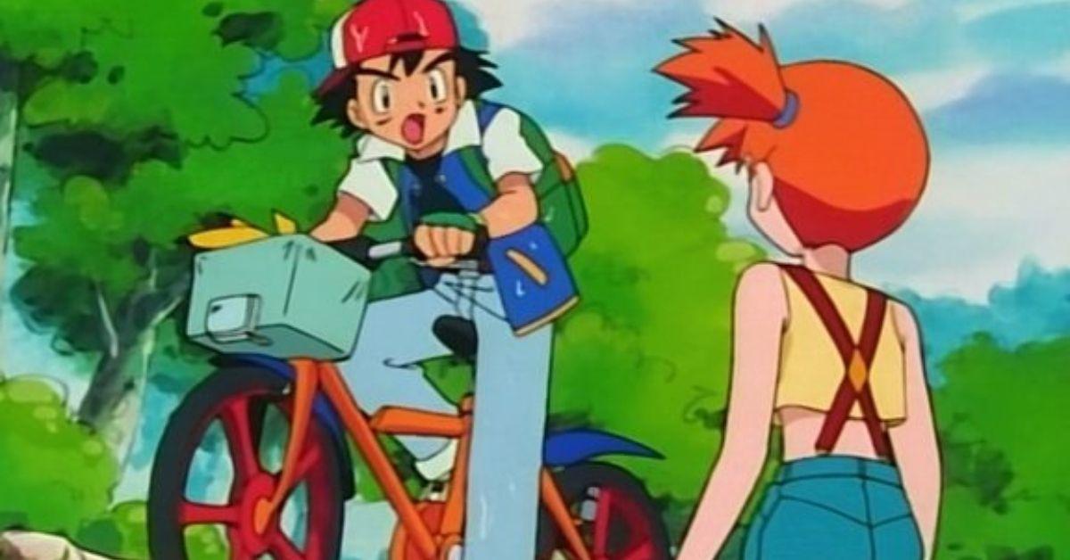 Pokemon Ash Misty Anime