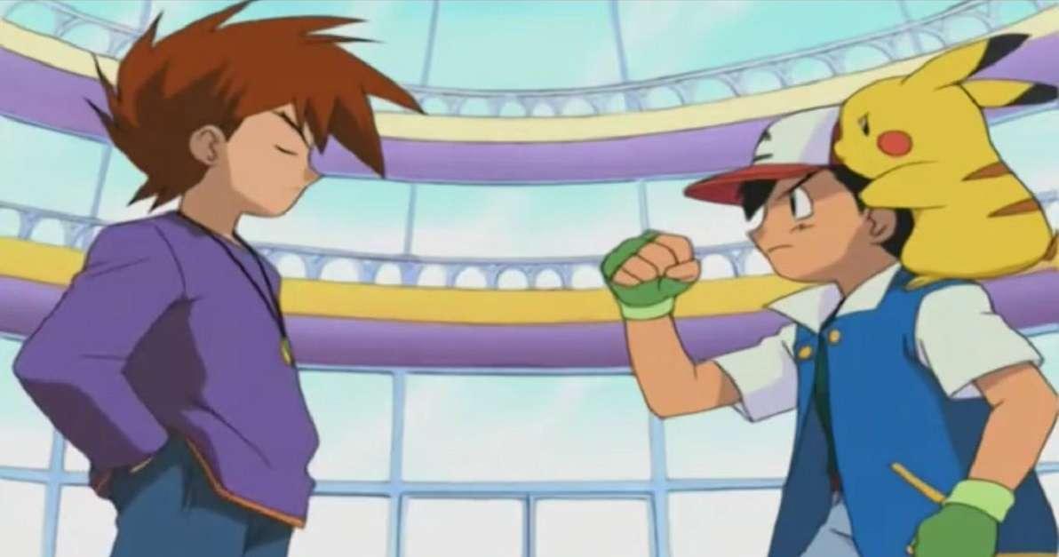 Pokemon Ash Vs Gary