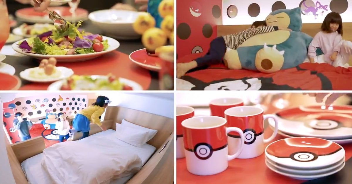 pokemon hotel