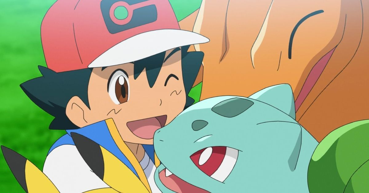 Pokemon Journeys Ash Bulbasaur Charizard Return