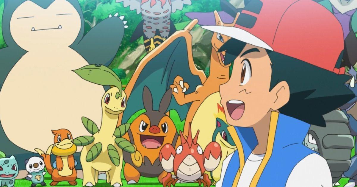 Pokemon Journeys Ash Old Pokemon Reunion