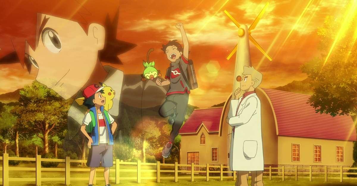 Pokemon Journeys Gary Oak