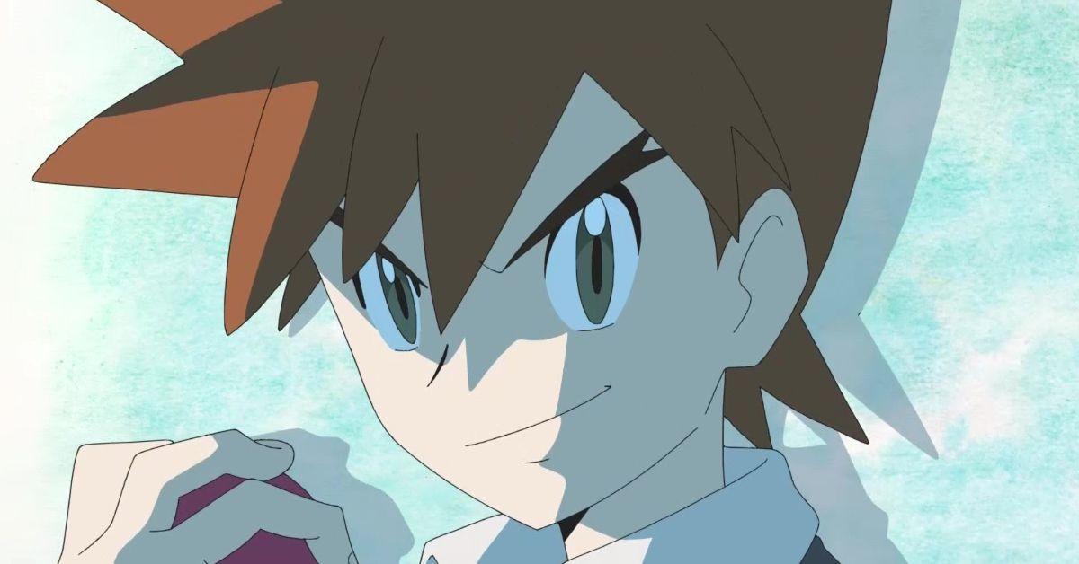 Pokemon Journeys Gary Oak Return Anime