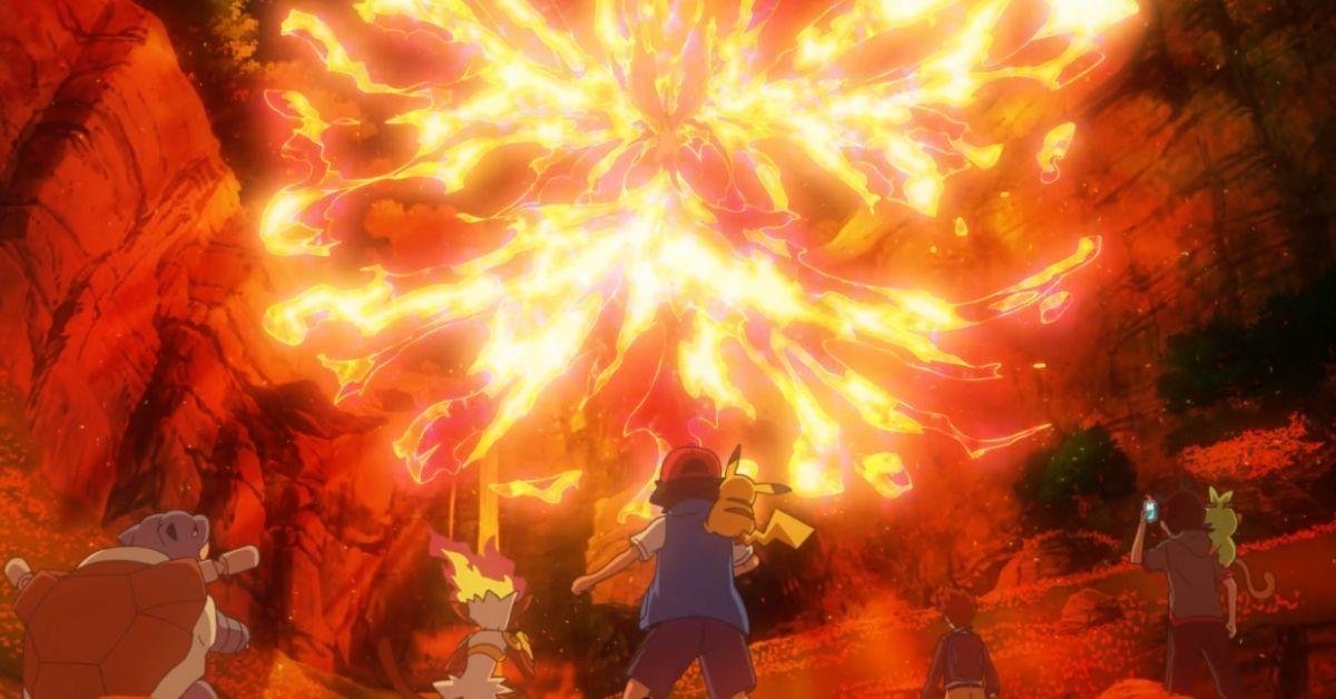 Pokemon Journeys Moltres Legendary Return Promo