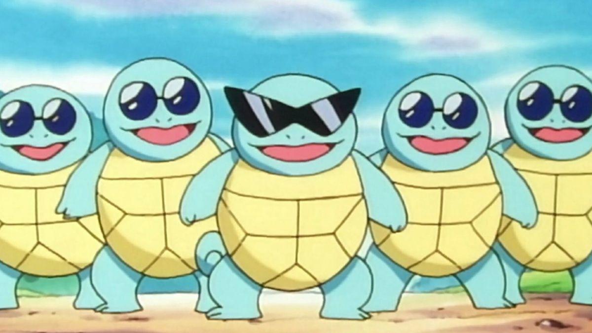 Pokemon Squirtle Squad