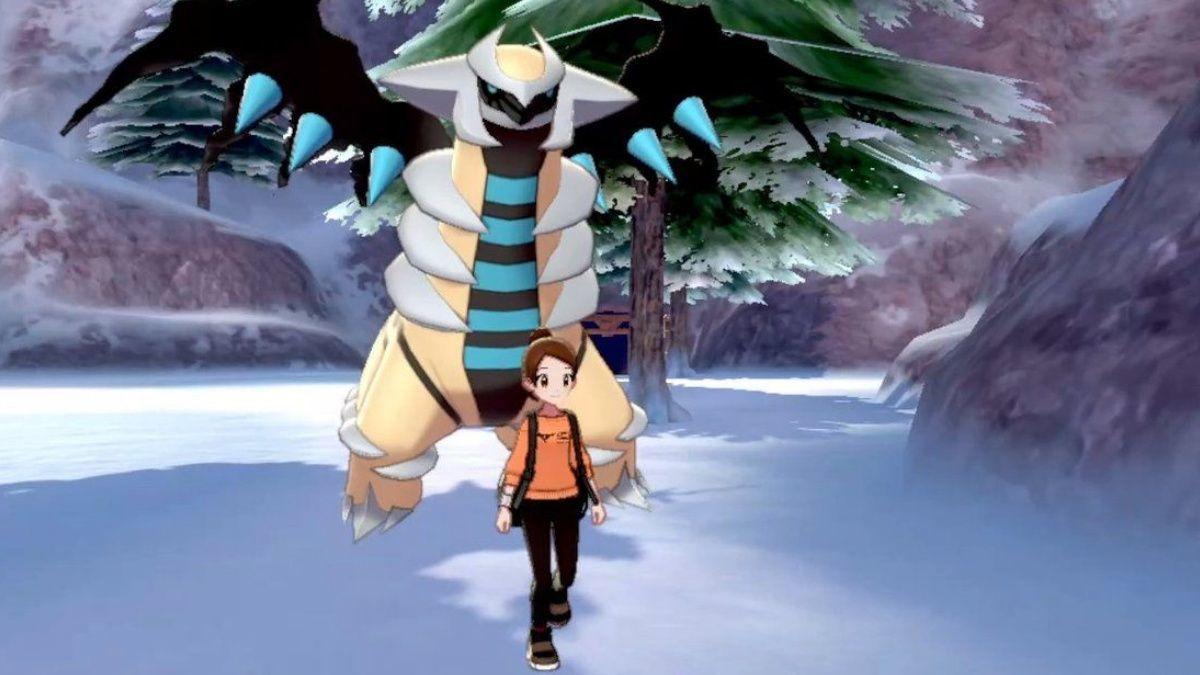 Pokemon Sword Shield Giratina Shiny