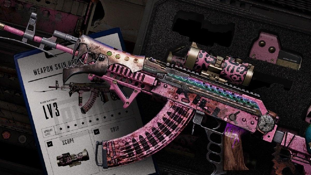 PUBG Weapon Progression