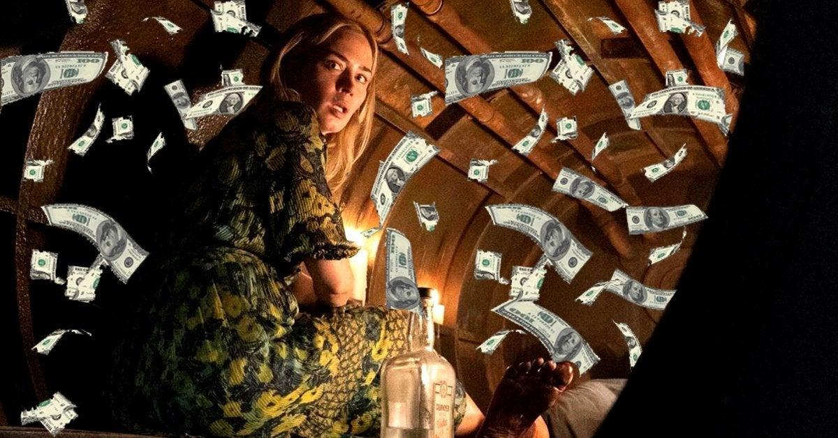 quiet place part 2 box office money