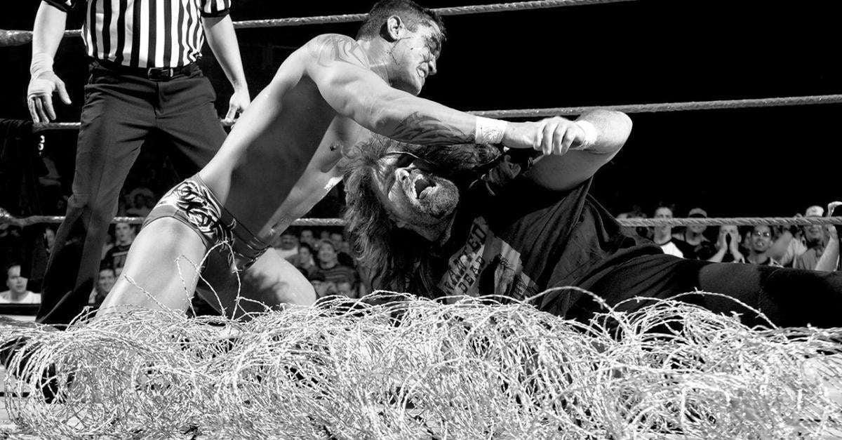 Randy Orton Mick Foley
