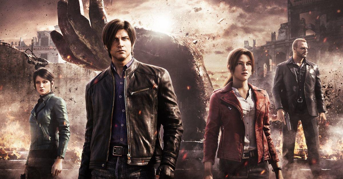 Resident Evil Infinite Darkness Anime Netflix