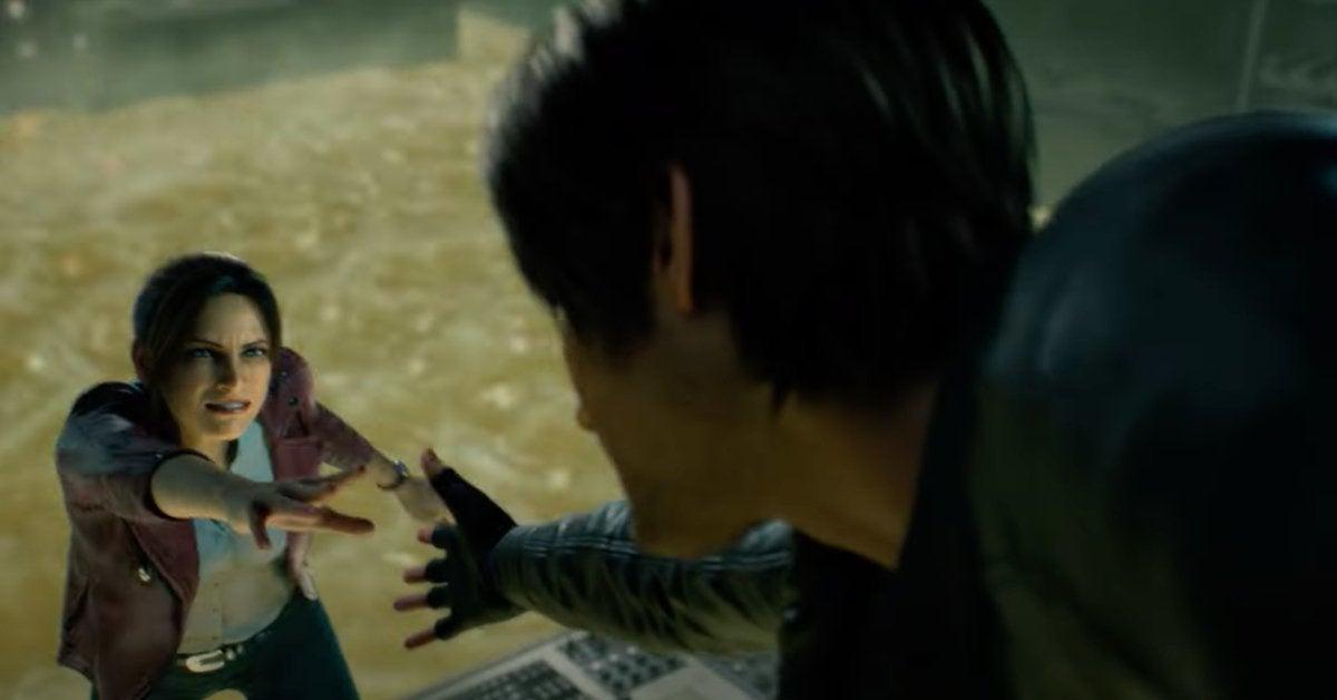Resident Evil Infinite Darkness Netflix CG Anime