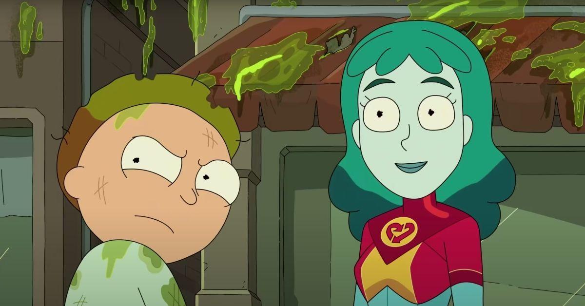 Rick and Morty Season 5 Captain Planet Parody Easter Egg