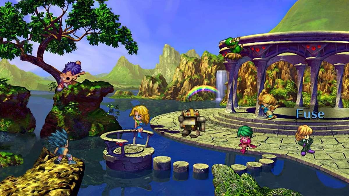 Saga Frontier Remastered Characters