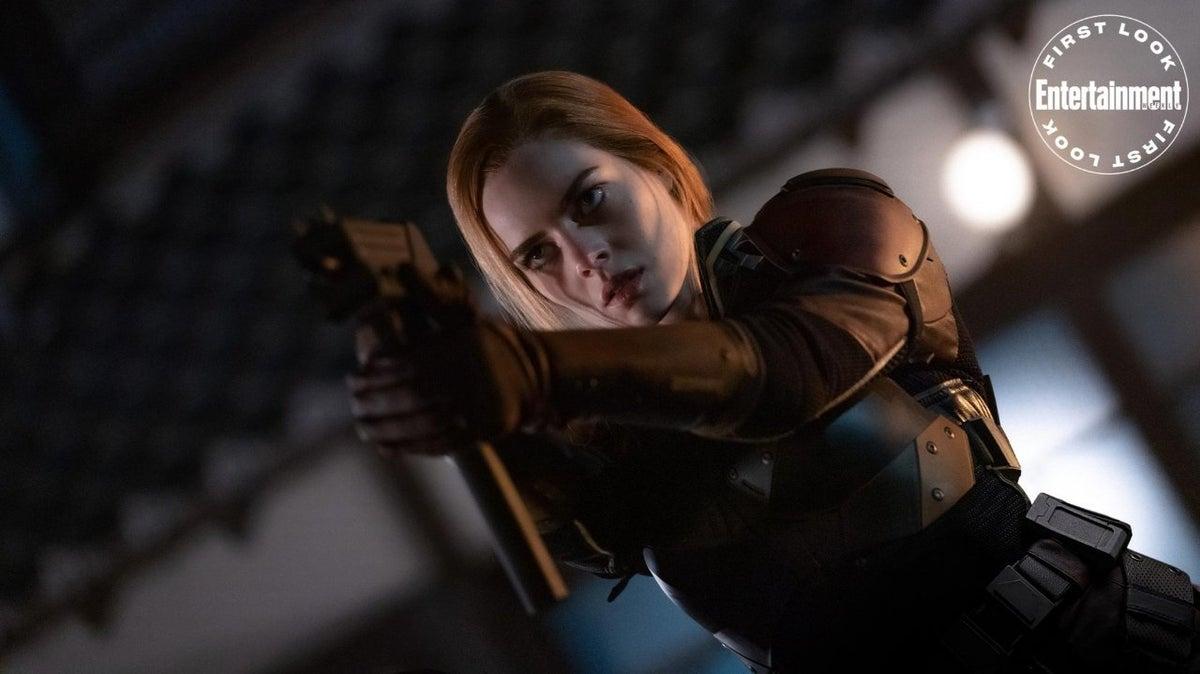 Samara Weaving as Scarlett in 'Snake Eyes.