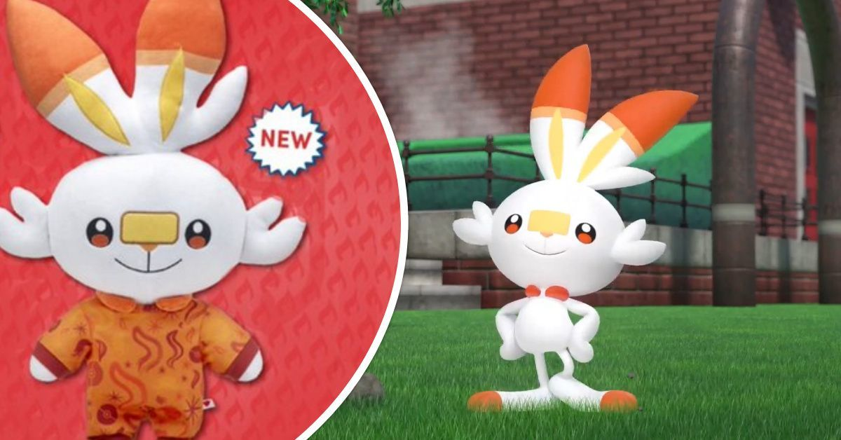 Scorbunny Build-a-Bear