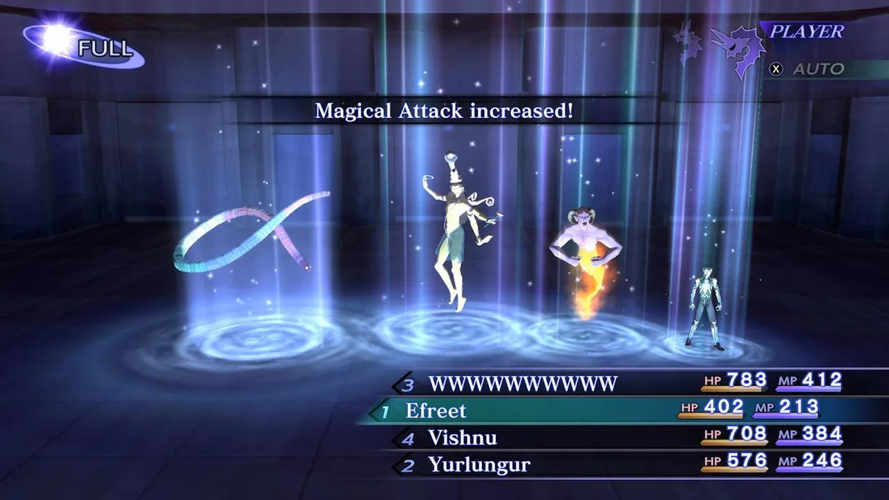 Shin Megami Tensei Nocturne HD Remaster Comabt