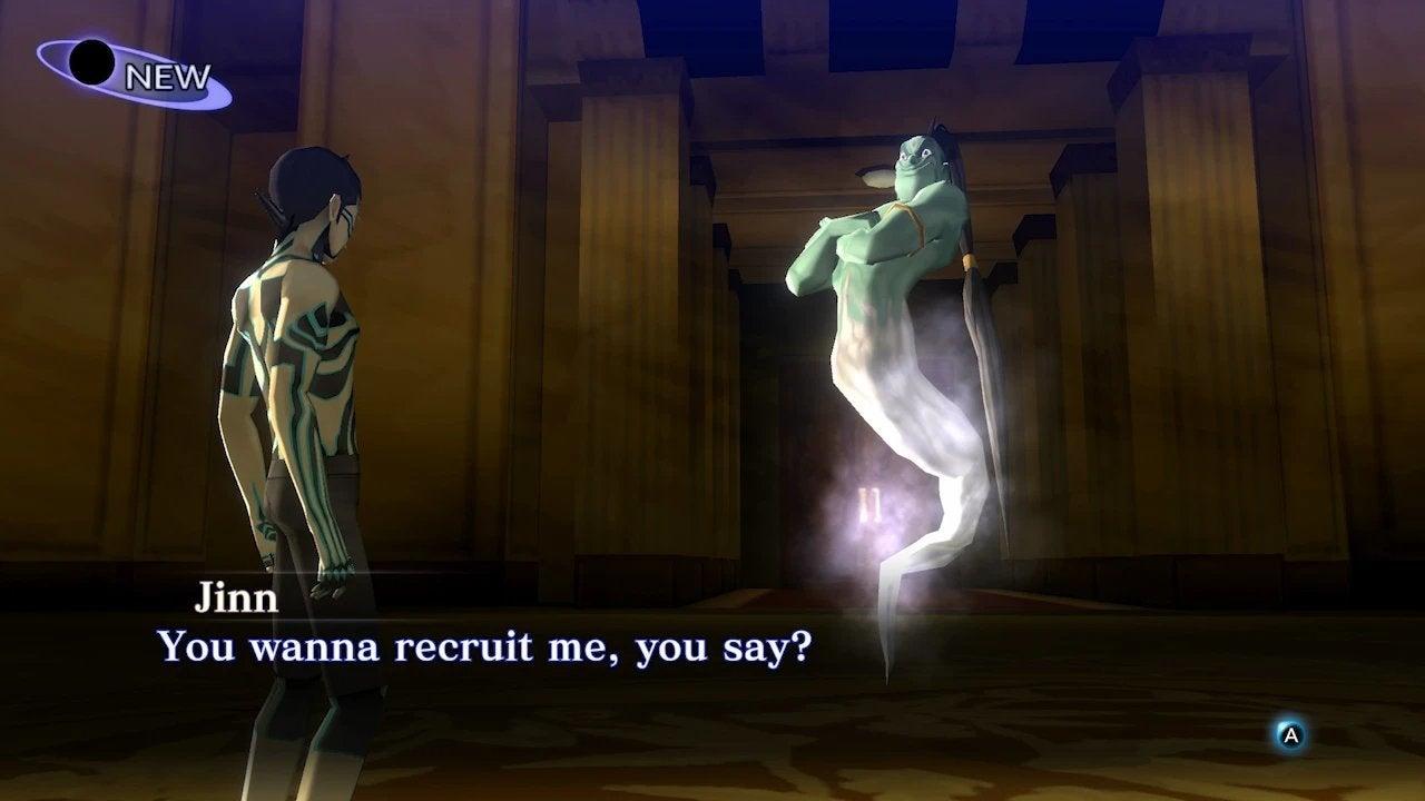 Shin Megami Tensei Nocturne HD Remaster Demon Negotiation