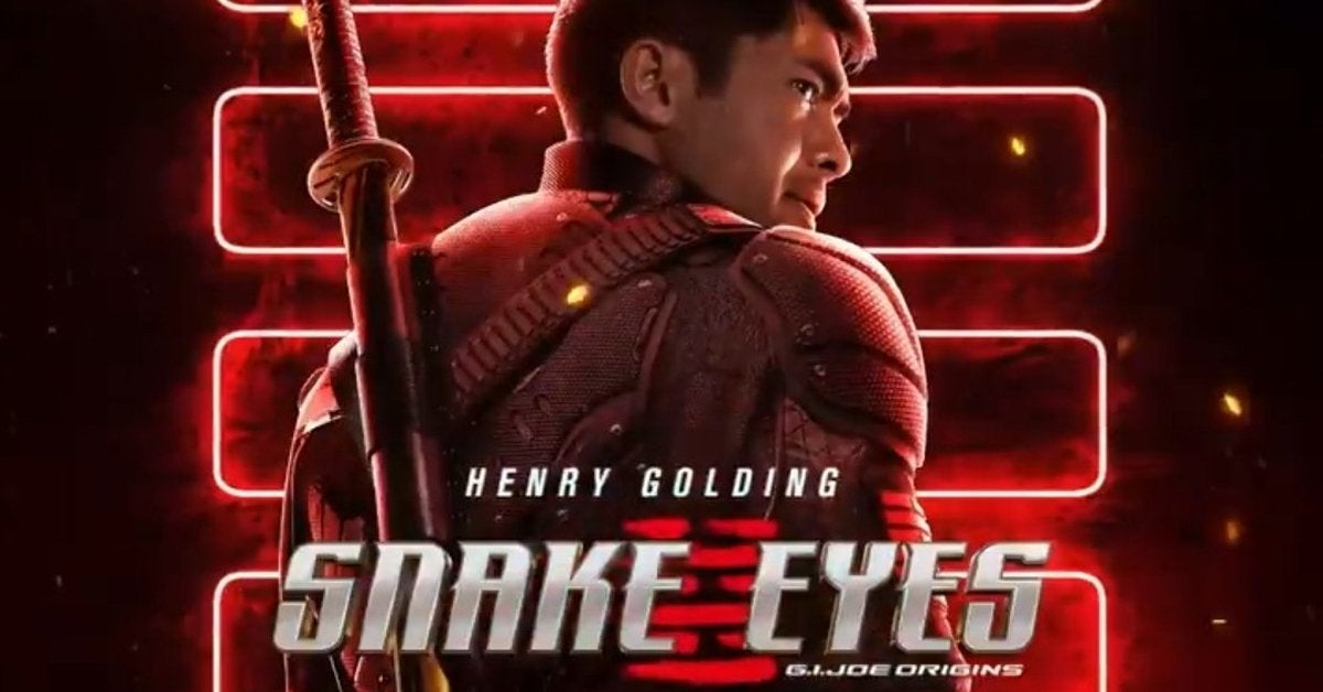 snake eyes movie poster henry golding