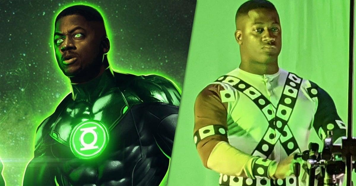 snyder cut green lantern bts