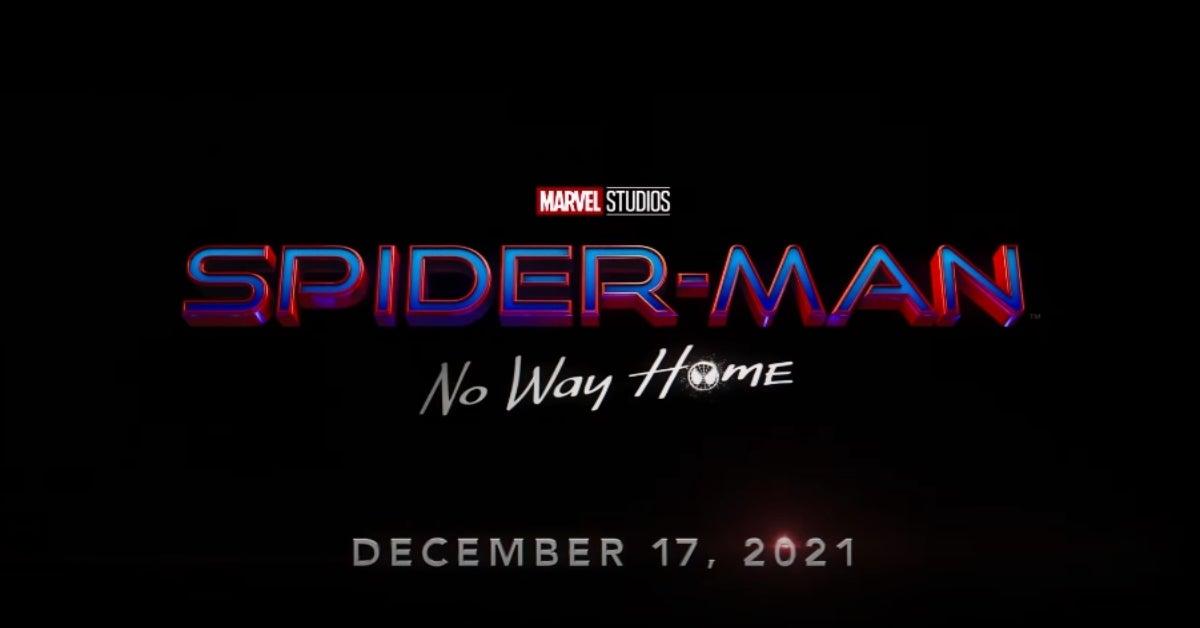Spider-Man No Way Home Title Card