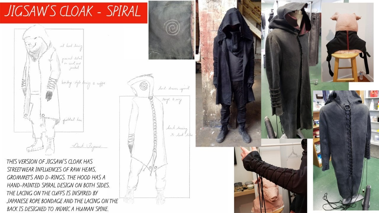 spiral from the book of saw jigsaw costume design 1