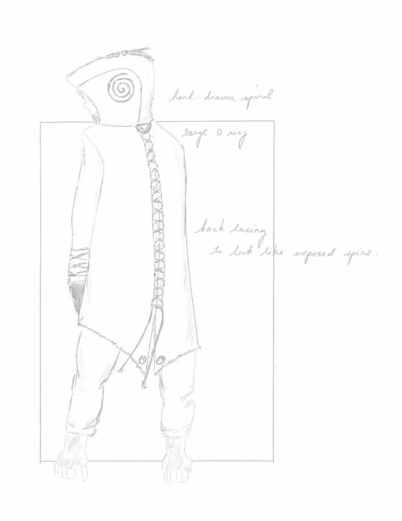 spiral from the book of saw jigsaw costume design 6