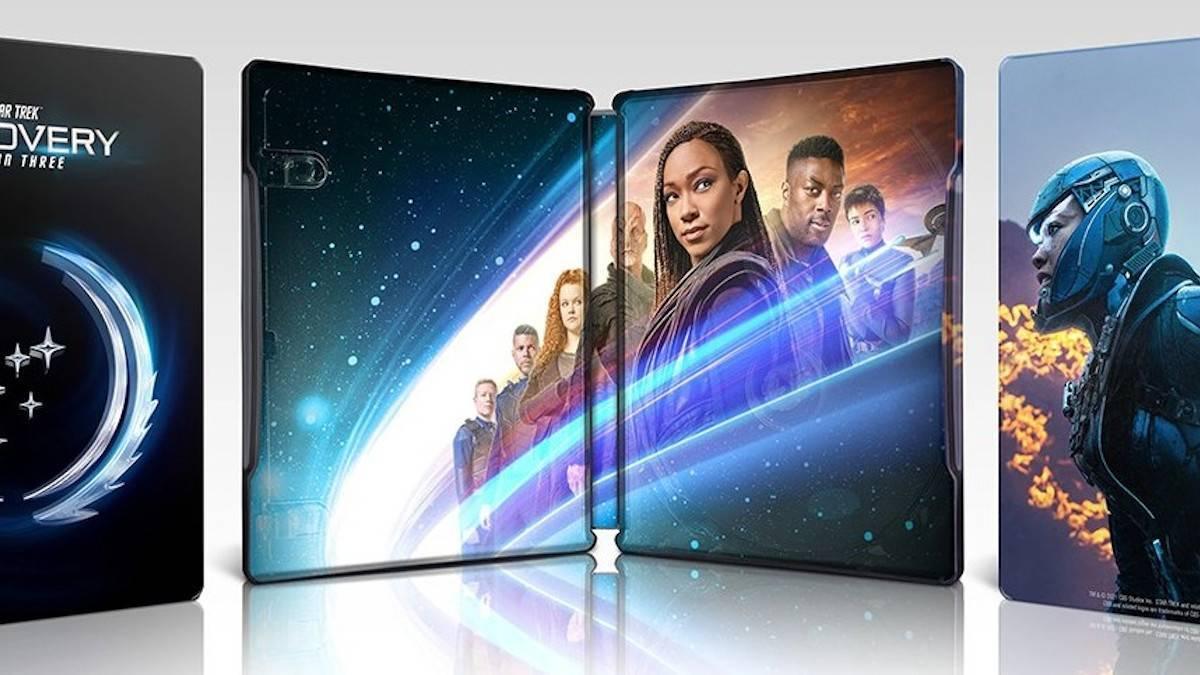 Star Trek Discovery Season 3 Steelbook