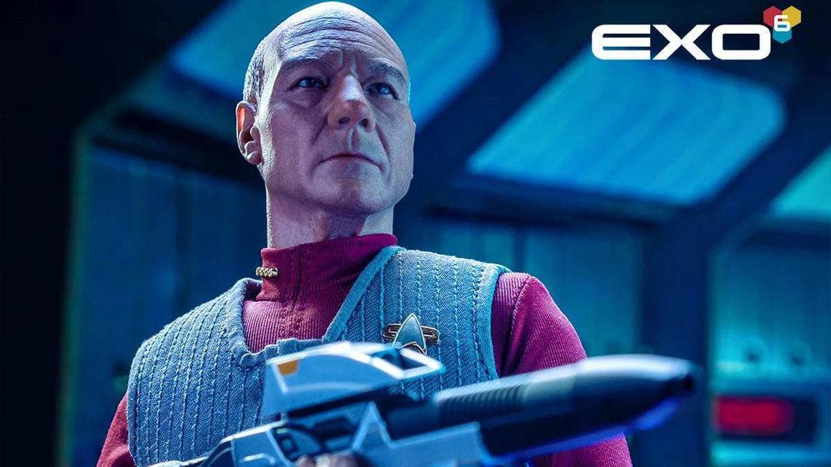 Star Trek First Contact Picard Exo 6 Figure