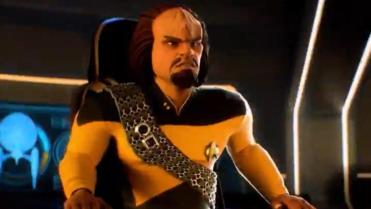 Star Trek Legends Worf