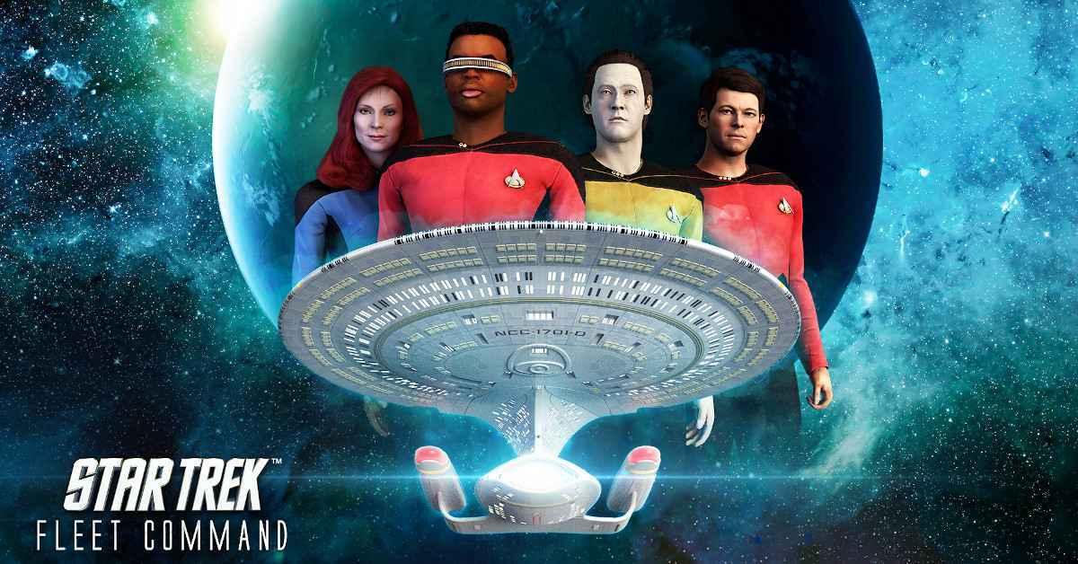 Star Trek The Next Geneartion TNG Fleet Command