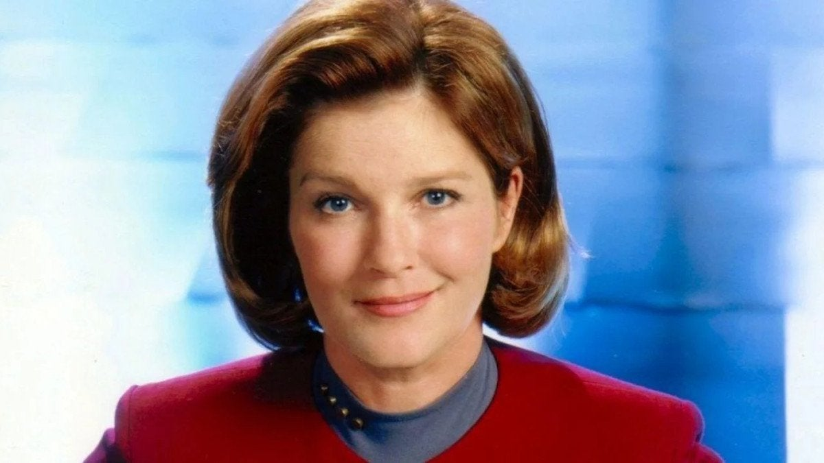 Star Trek Voyager Captain Janeway Kate Mulgrew