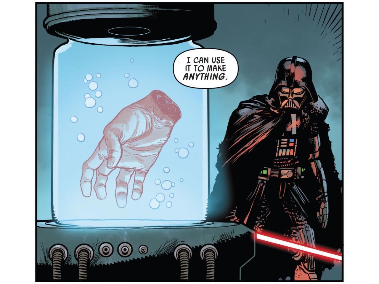 Star Wars Darth Vader 11 Luke's Hand