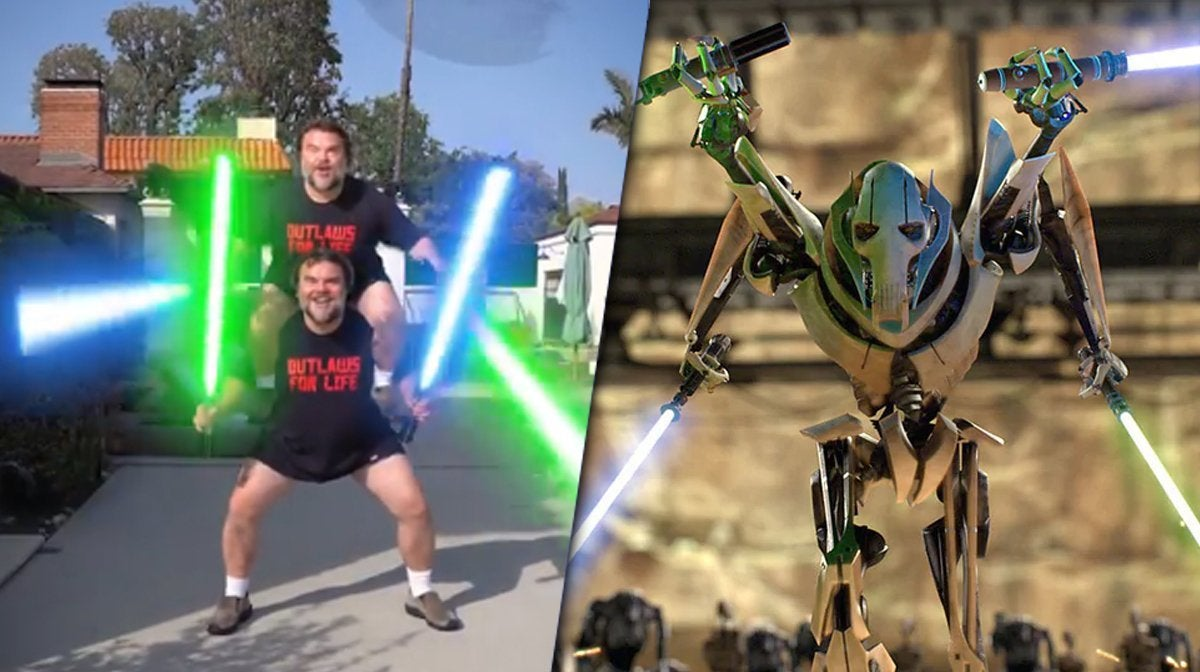 star wars jack black general grievous hello there
