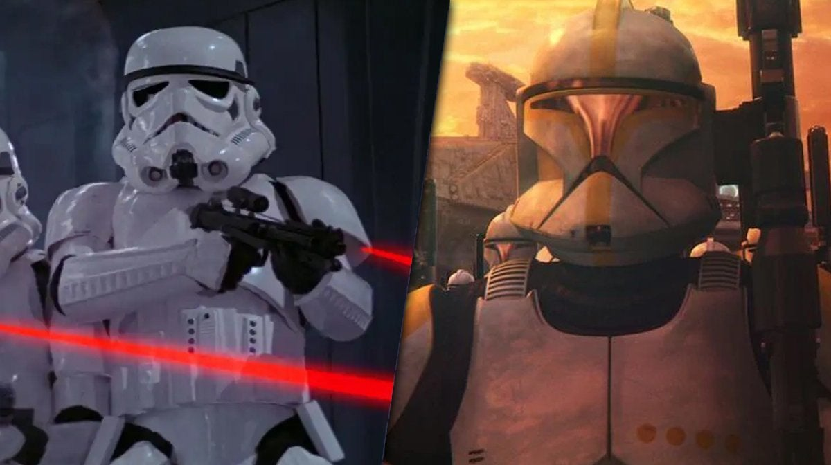 star wars stormtrooper clone trooper